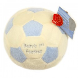 Baby's eerste voetbal