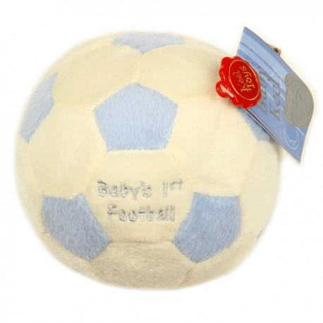 Baby's first soccer ball
