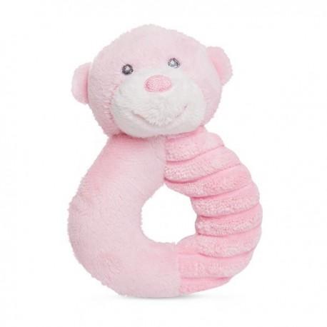 "Bonnie Doughnut Rattle Pink ""Ellie"""