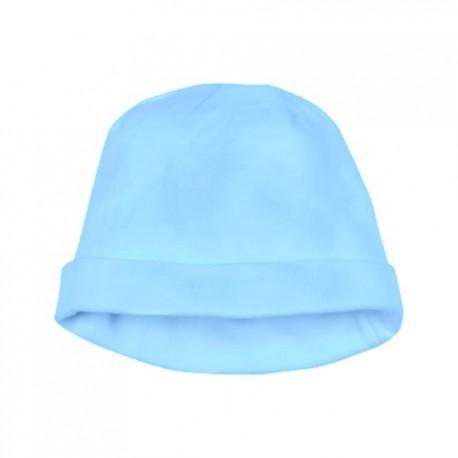 Bonnet bleu nouveau-né