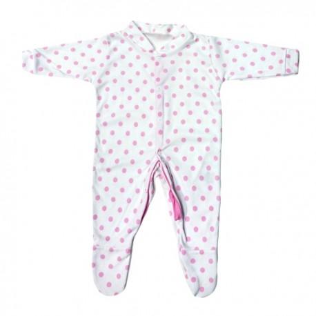 Pyjama à pois rose