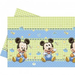 "Plastic Tablecover ""Baby Mickey Mouse"""