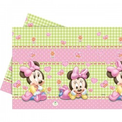"Plastic Tablecover ""Baby Minnie Mouse"""