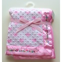 Gorgeous luxury plush Little Angel blanket