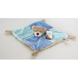 "Comforter dog ""vichy"" blue"