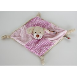 "Comforter dog / puppy ""vichy"" pink"