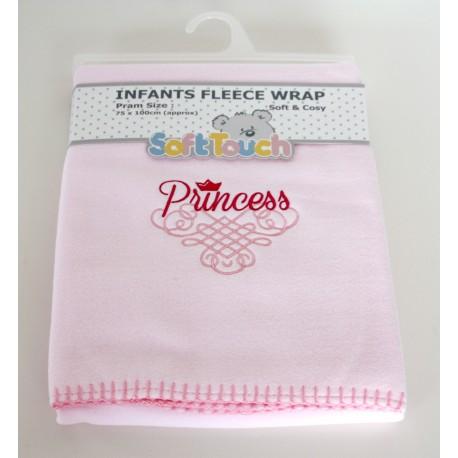 "Soft Fleece ""Princess"" Blanket"