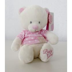 "Knuffeldier beertje ""Baby Girl"" roze"