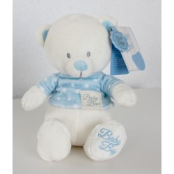 "Baby bear with blue T-shirt ""Baby Boy"""