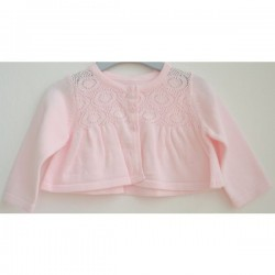 Pretty Baby Pink Cardigan For Nb-9m
