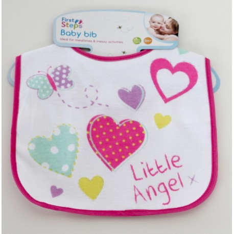 "Bavoir ""Little angel"""