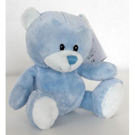 "Gorgeous soft blue baby bear ""Max"""
