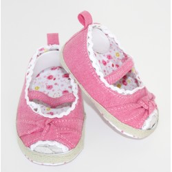 Pretty Peep Toe Knotted Summer Baby Girl Shoe