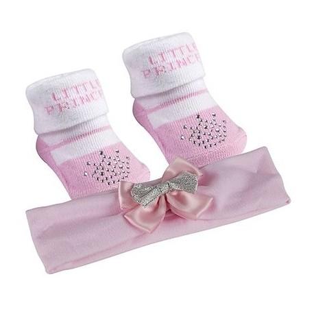 """Princess"" Socks and Headband set"