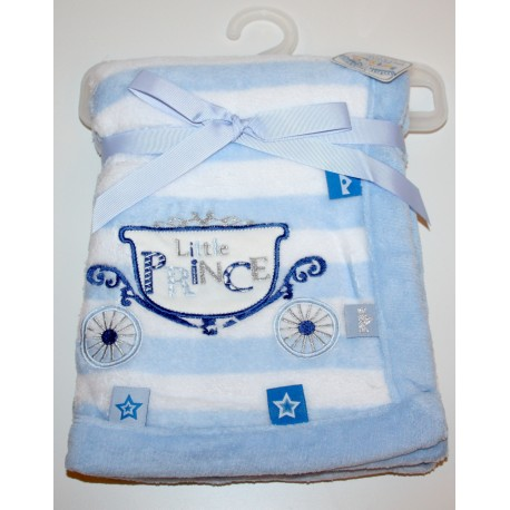 Gorgeously soft little Prince blankets blue