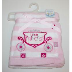 """Deken """"Little princess"""" roze"""