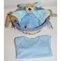 """Birth basket """"vichy"""" blue"""