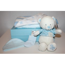 "Birth box ""basic"" blue"
