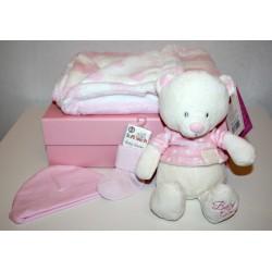 "Geboortedoos ""basic"" roze"