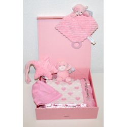 "Birth box ""De Luxe"" pink"