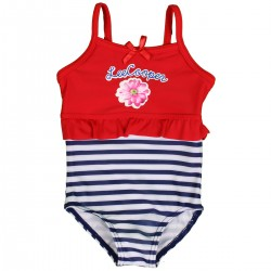 "Maillot de bain fille ""Lee Cooper"" rouge"