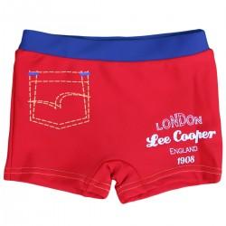 "Maillot de bain garçon ""Lee Cooper"" rouge"