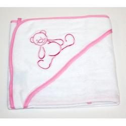 "Badcape ""bear"" pink"