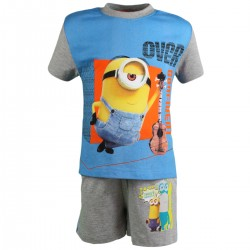 "2-piece summer set ""Minions"" blue"