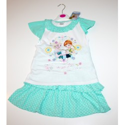 "2-piece summer set ""Frozen"" green"