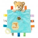 "Nuby teething blanket ""Glow in the dark"""