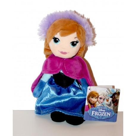 """Peluche Anna """"Reine des neiges"""""""