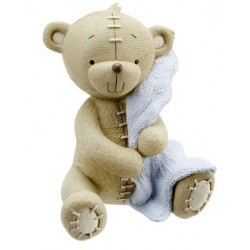 "Money bank ""teddy bear"" blue"
