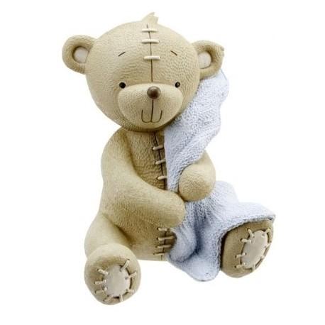 "Money bank ""teddy bear"" blue"