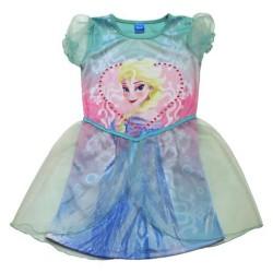 """Robe Elsa """"La Reine des Neiges"""" bleue"""