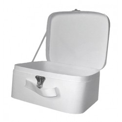 Wit koffertje