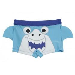 """Zwembroek """"haai"""" blauw"""