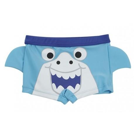 """Maillot de bain garçon """"requin"""" bleu"""