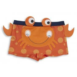 "Swimsuit boy ""crab"" orange"