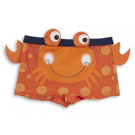 "Swimsuit boy ""crab"" orange"