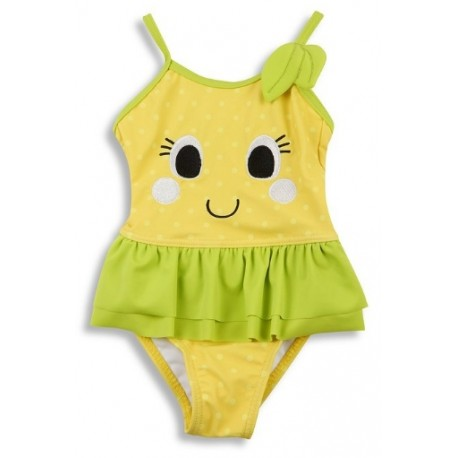 "Swimsuit girl ""lemon"" yellow"