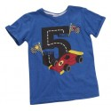 "T-shirt boy ""5 years"" blue"