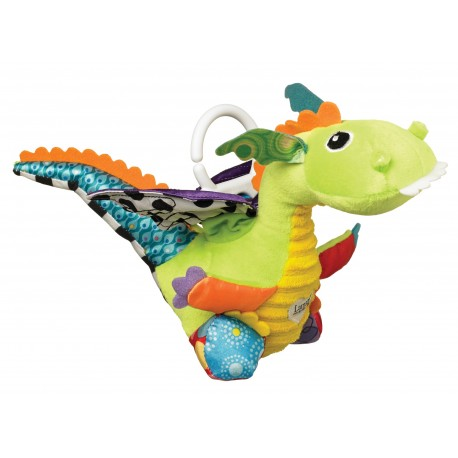 "Plush dragon ""Flip Flap"" with moving wings"
