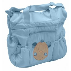 "Nursery bag ""bear"" blue"