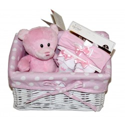 "Birth basket ""mini"" pink"