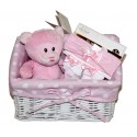 """Geboortemand """"mini"""" roze"""