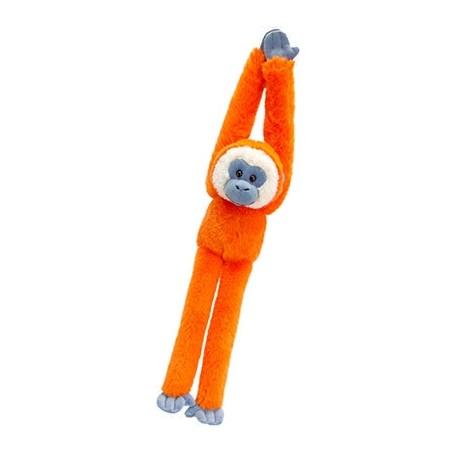 Knuffel aapje 50 cm oranje