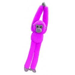 Knuffel aapje 50 cm roze