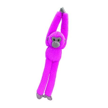 Plush monkey 50 cm pink
