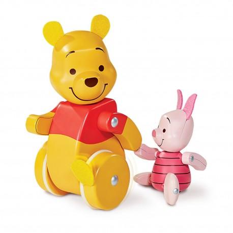"""Speelgoed Winnie en Knorretje """"Waggel en Volg"""""""