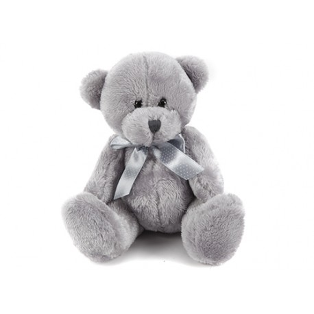 "Teddy bear ""ribbon"" gray"